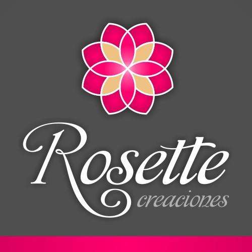diseño logo rosette