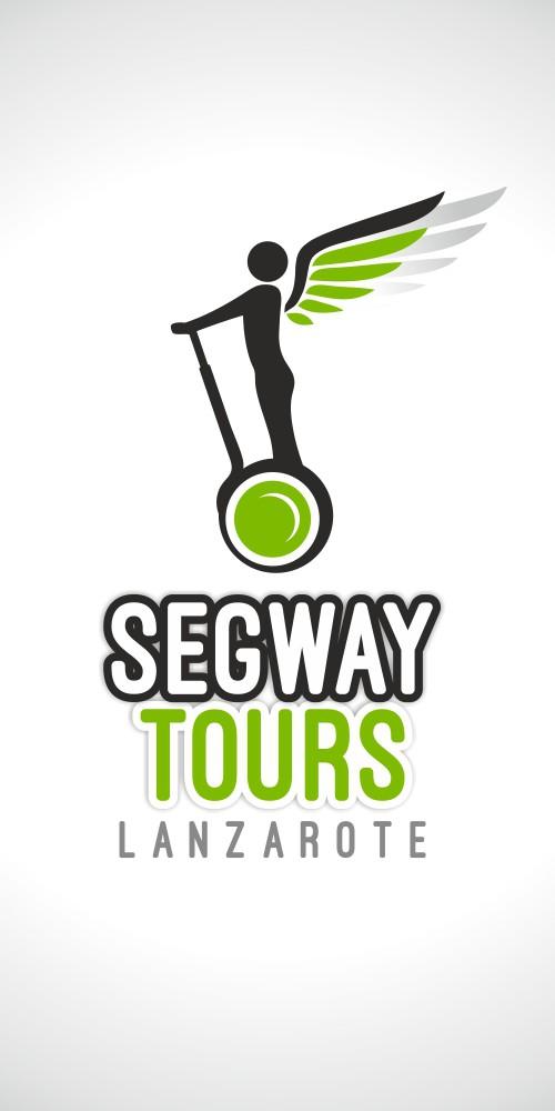 diseño logo segway tours