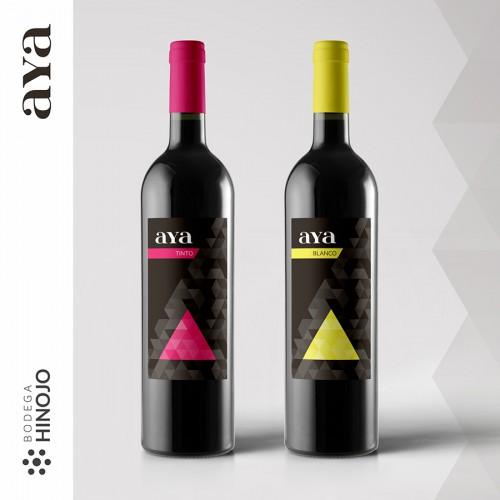 diseño packaging Bodega Hinojo Aya - zona creatika diseño packaging