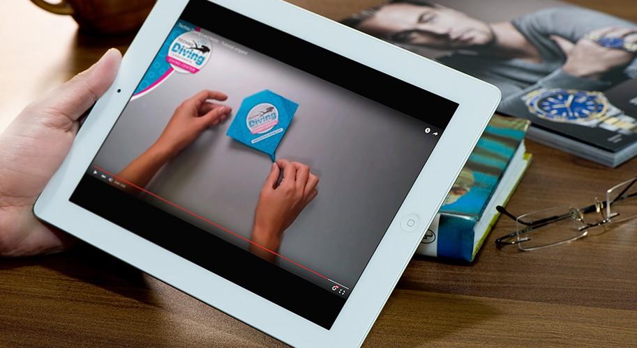 Techno Diving Lanzarote - Video Origami - zona creatika