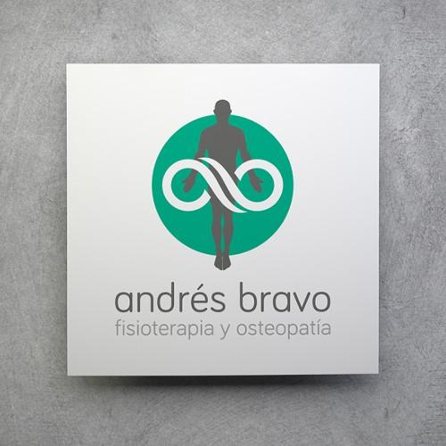 diseño identidad andres bravo fisioterapeuta - zonacreatika
